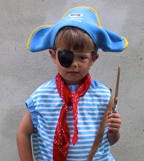 piraat speurtocht kinderfeest activiteit