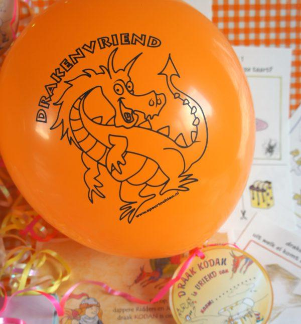 ridderfeest ballon speurtochten.nl buiten activiteit