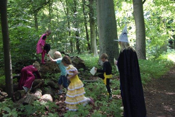 heksen kinderfeest toverdrank kind activiteit