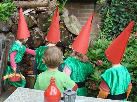 kabouter speurtocht bosdieren kinderfeest verjaardag