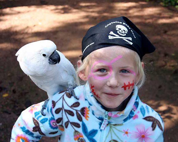 piraten spannend speurfeest verjaardagsfeest 7 jaar