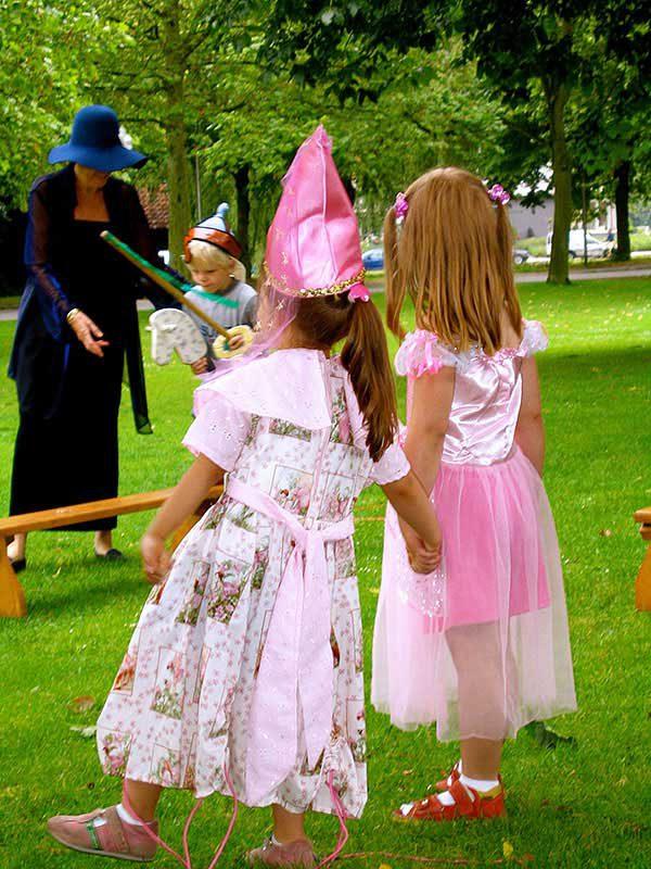 ridders prinsessen kinderpartijtje kant en klaar spannend