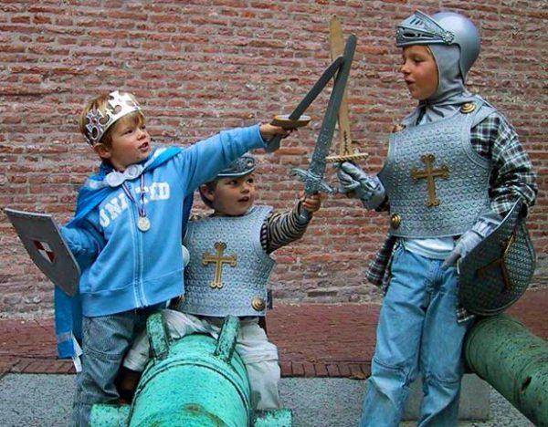 ridders prinses draken kinderfeest speurtochten.nl buiten activiteit