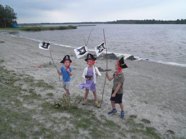 piraten kinderfeest spannend buiten activiteit verjaardag