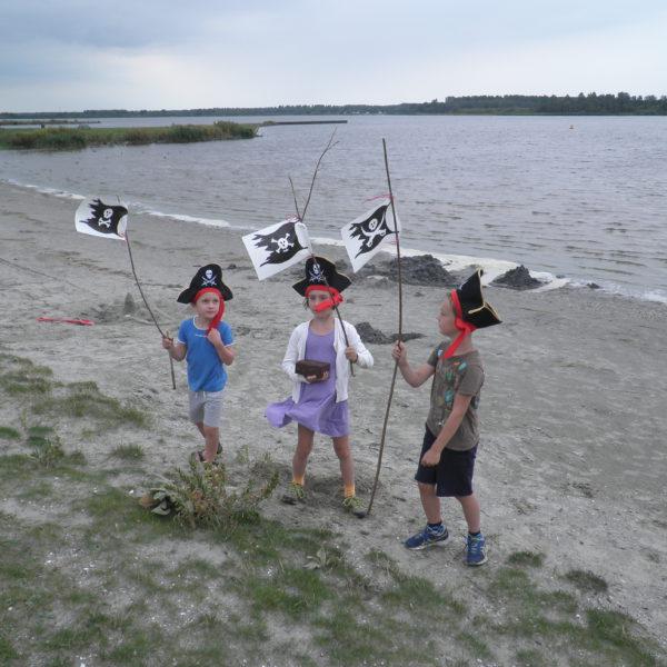 piraten kinderfeest spannend