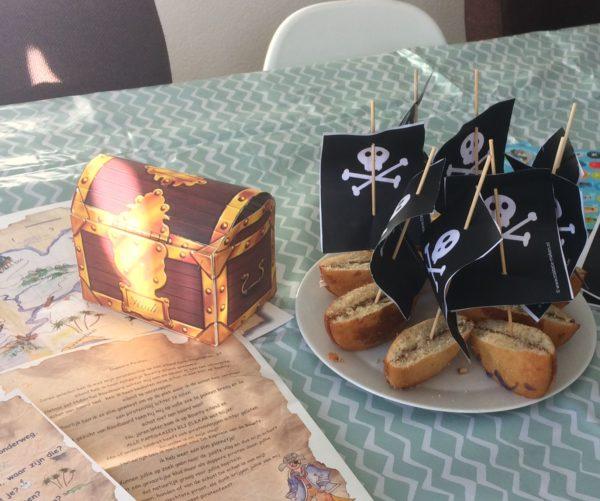 piraten kinderfeest 7 jaar buiten activiteit