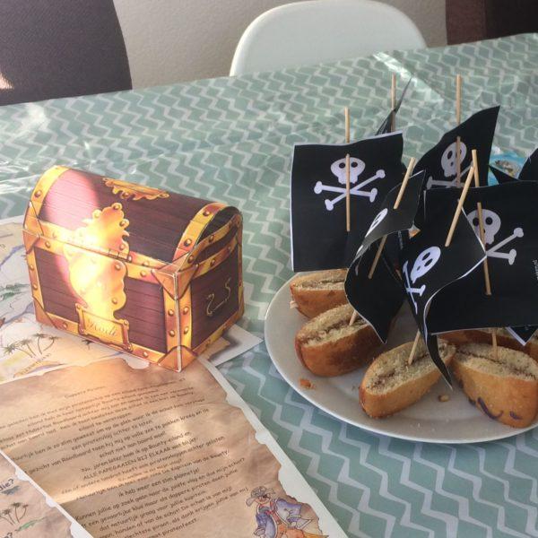 piraten kinderfeest 7 jaar