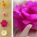 knutsel een bloem